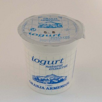 Iogurt natural ensucrat